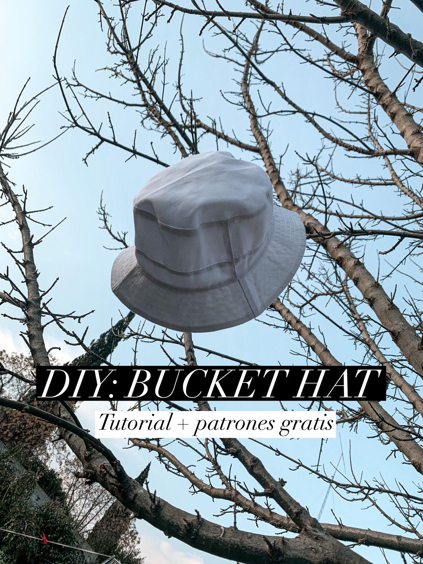 DIY: Haz tu propio sombrero pescador / piluso + Patrones gratis